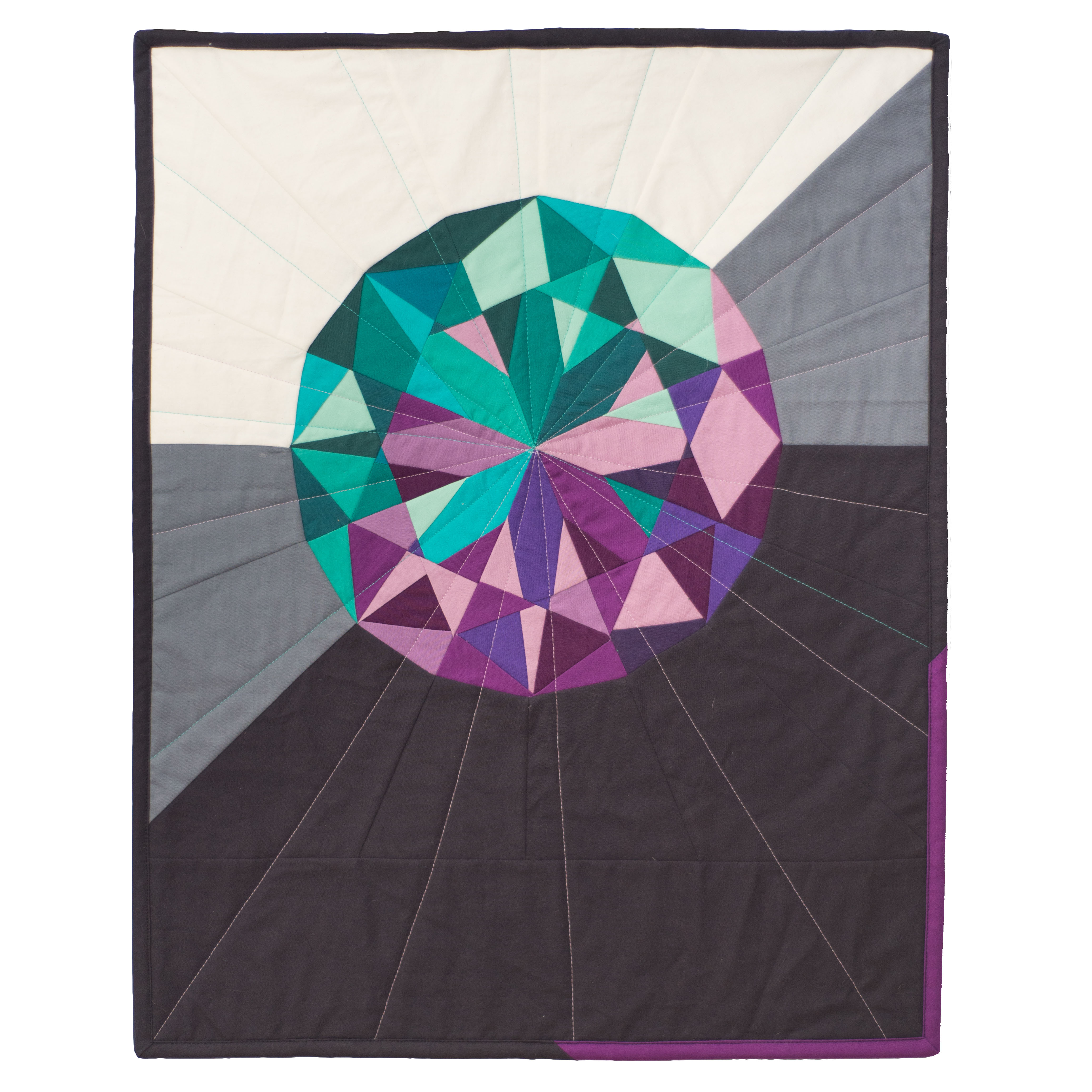 "<b>Amethyst</b><br>20"" x 20""<br>Cotton, cotton batting<br><a href=""mailto:hello@3rdstoryworkshop.com?Subject=Amethyst%20Gemology"" target=""_top"" rel=""noopener noreferrer"">Inquire</a>"