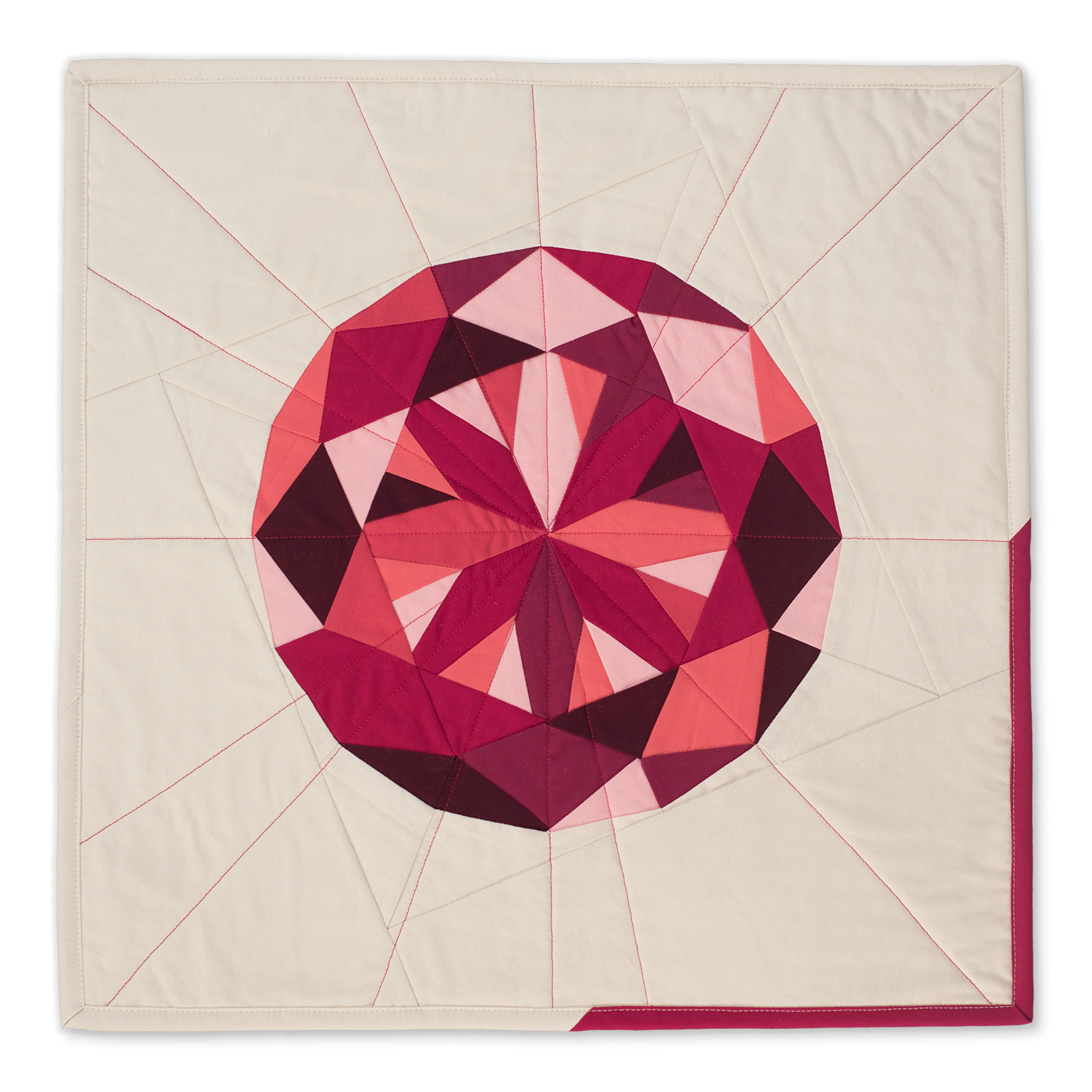 "<b>Ruby</b><br>20"" x 20""<br>Cotton, cotton batting<br><a href=""mailto:hello@3rdstoryworkshop.com?Subject=Ruby%20Gemology"" target=""_top"" rel=""noopener noreferrer"">Inquire</a>"